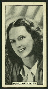 Dorothy Jordan.