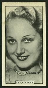 Leila Hyams.
