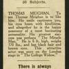 Thomas Meighan.