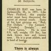 Charles Ray.