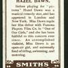 Hazel Dawn.