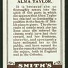 Alma Taylor.
