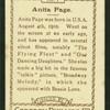 Anita Page.