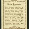 Betty Bronson.