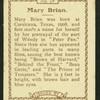 Mary Brian.