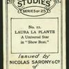 Laura La Plante.