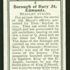 Beadles staves, Bury St. Edmunds.