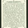Farquharson.