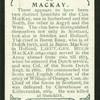 MacKay.