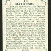 Matheson.
