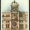 Clock, St. Mark's Square, Venice.
