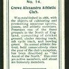 Crewe Alexandra Athletic Club.
