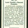 Lord North's Basset Hound.