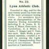 Lynn Athletic Club.