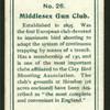 Middlesex Gun Club.