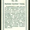 National Cyclists' Union.
