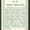 Newport Athletic Club.