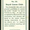 Royal Canoe Club.