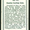 Stanley Cycling Club.