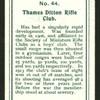 Thames Ditton Rifle Club.
