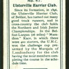 Ulsterville Harrier Club.