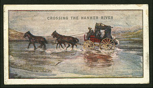 Crossing the Hanmer River.