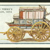 Pope & Yeend's blue coach, 1874.