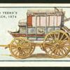 Pope & Yeend's blue coach, 1874.