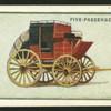 Five-passenger coach.