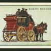 Kaiapoi two-horse coach.