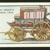 Pope and Yeend's blue coach, 1874.