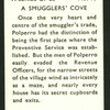 A smugglers' cove.