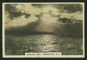 English Bay, Vancouver, B.C.