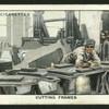 Cutting frames.