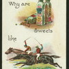 Why are sweets like racehorses?