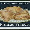 Marmalade turnovers.