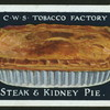 Steak & kidney pie.