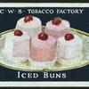 Iced buns.