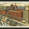 Flour mills.