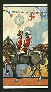 The King's Indian Orderly Officers (A).