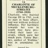 Charlotte of Mecklenburg-Strelitz.