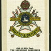 The Sherwood Foresters.