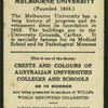 Melbourne University.