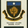 Teacher's College, Sydney.
