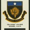 Teacher's College, Sydney.