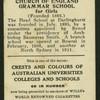 Sydney Church of England Grammar School for Girls.
