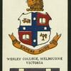 Wesley College, Melbourne.