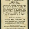 Trinity Grammar School.