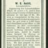 W.E. Astill.