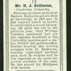Mr. H.J. Enthoven.